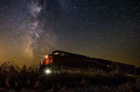 train to the cosmos